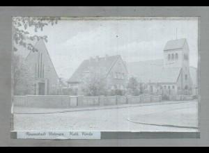 Neg1444/ Uetersen Kath. Kirche altes Negativ 1950/60
