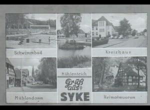Neg1626/ Gruß aus Syke altes Negativ 1950/60