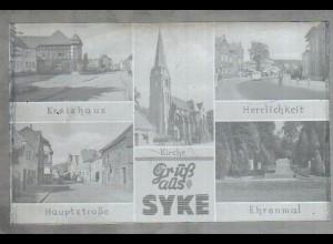 Neg1625/ Gruß aus Syke altes Negativ 1950/60