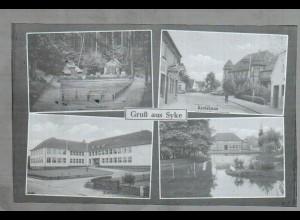 Neg1624/ Gruß aus Syke altes Negativ 1950/60