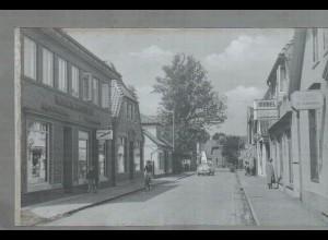 Neg1623/ Syke Straßenpartie altes Negativ 1950/60