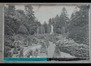 Neg1749/ Hamburg Ohlsdorf Friedhof Original-Negativ 1940/50