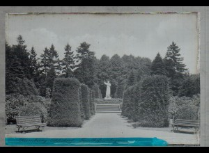 Neg1747/ Hamburg Ohlsdorf Friedhof Original-Negativ 1940/50