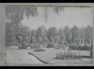 Neg1746/ Hamburg Ohlsdorf Friedhof Rosengarten Original-Negativ 1940/50