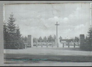 Neg1832/ Hamburg Ohlsdorf Englischer Friedhof Original-Negativ 1950/60