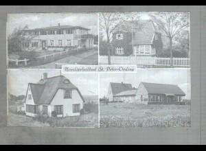 Neg1817/ St. Peter-Ording Haus Bergedorf, Islandstr. Original-Negativ 1940/50
