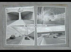 Neg1799/ Rendsburg Kanaltunnel Original-Negativ 1961