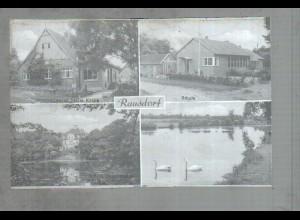 Neg1797/ Rausdorf Schule, Mühlenteich Original-Negativ 1940/50