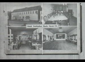 Neg1840/ Horst i. H. Hotel Deutsches Haus altes Negativ 1950/60