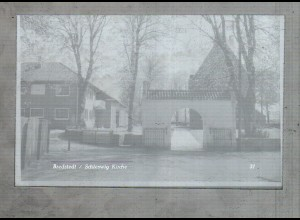Neg1988/ Bredstedt Kirche altes Negativ 60er Jahre