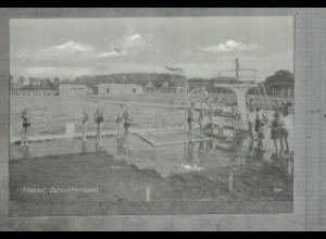 Neg2005/ Meldorf Schwimmbad altes Negativ 50/60er Jahre