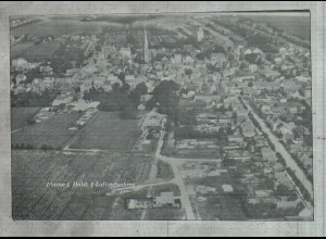 Neg2127/ Marne i. H. Luftaufnahme altes Negativ 50/60er Jahre