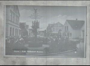 Neg2126/ Marne i. H. Müllenhoff-Brunnen altes Negativ 50/60er Jahre