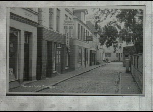Neg2122/ Marne i. H. Steinstraße altes Negativ 50er Jahre