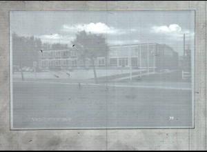 Neg2096/ Niebüll Kreishaus altes Negativ 60er Jahre