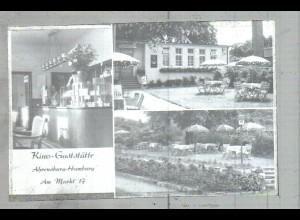 Neg2135/ Ahrensburg Kino-Gaststätte altes Negativ 1940/50 -AK-