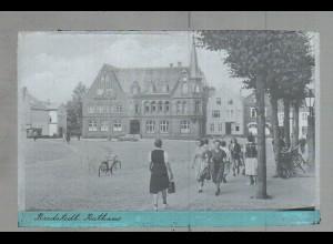 Neg1682/ Bredstedt Rathaus altes Negativ 1950/60