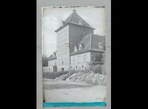 Neg1653/ Rendsburg Koloniale Frauenschule altes Negativ 1940/50