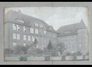 Neg1644/ Rendsburg Aufbauschule altes Negativ 1940/50
