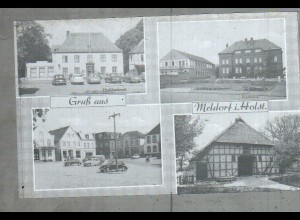 Neg2287/ Gruß aus Meldorf altes Negativ 1940/50