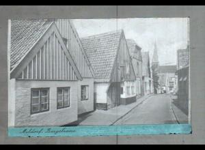 Neg2286/ Meldorf Burgstraße altes Negativ 1940/50