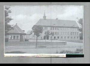 Neg2293/ Niebüll Volksschule altes Negativ 1940/50