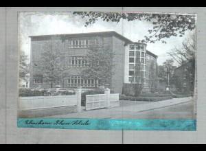 Neg2504/ Elmshorn Blaue Schule altes Negativ 1940/50