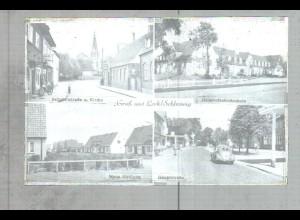 Neg2486/ Leck Bahnhofstr., Neue Siedlung altes Negativ 1940/50