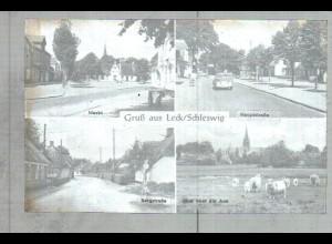 Neg2485/ Leck Bergstraße, Markt altes Negativ 1940/50