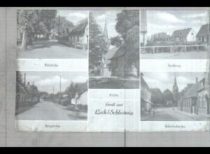 Neg2481/ Leck Birkstr, Bahnhofstr., Siedlung altes Negativ 1940/50