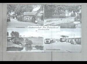 Neg2479/ Lauenburg Gasthof Zur Palmschleuse, Zonengrenze altes Negativ 1940/50