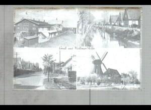 Neg2467/ Kollmar a.d. Elbe mit Windmühle altes Negativ 1940/50