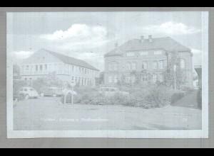Neg2628/ Meldorf Rathaus Stadtsparkasse altes Negativ 50/60er Jahre