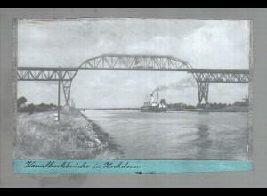 Neg6180/ Hochdonn Kanalhochbrücke altes Negativ 50er Jahre