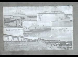 Neg2602/ Hochdonn Nord-Ostsee-Kanal altes Negativ 1950/60