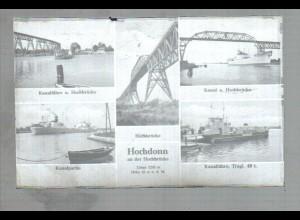Neg2599/ Hochdonn Nord-Ostsee-Kanal Fähre Dampfer altes Negativ 1940/50