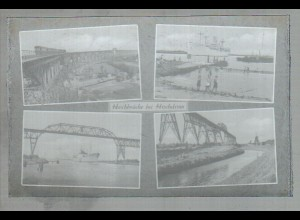 Neg2598/ Hochdonn Hochbrücke Nord-Ostsee-Kanal altes Negativ 1940/50