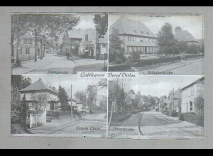 Neg2651/ Burg in Dithm. Nantzstr., Bahnhofstr.,m altes Negativ 1940/50