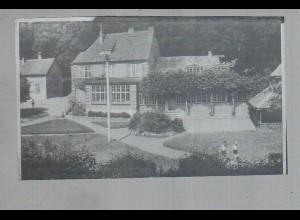 Neg2653/ Burg in Dithm. Kreisamt altes Negativ 1940/50