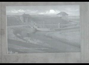 Neg2794/ Insel Nordstrand Strucklahnungshörn altes Negativ 60er Jahre