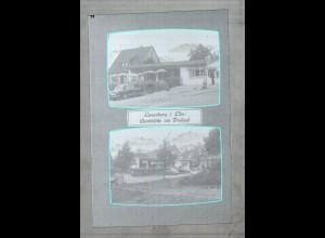 Neg2784/ Lauenburg Gaststätte am Freibad altes Negativ 60er Jahre