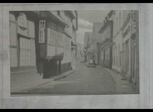 Neg2783/ Lauenburg Elbstraße altes Negativ 50/60er Jahre