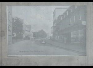 Neg2781/ Lauenburg Berliner Straße altes Negativ 50/60er Jahre