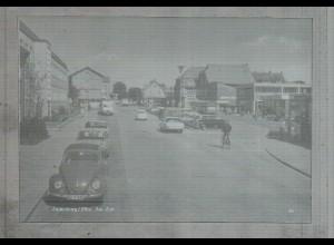 Neg2741/ Lauenburg ZOB Autos altes Negativ 60er Jahre