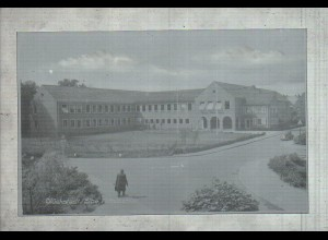 Neg2845/ Glückstadt Mittelschule altes Negativ 50er Jahre