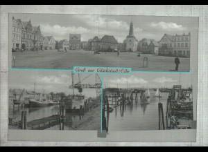 Neg2842/ Glückstadt Hafen altes Negativ 40/50 Jahre