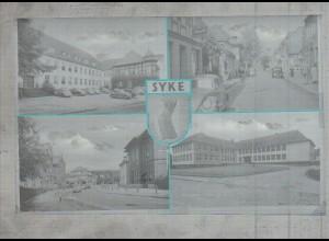 Neg2934/ Syke Kreishaus, Berufsschule altes Negativ 50/60er Jahre