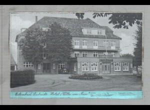 """Neg3069/ Grömitz Hotel """"Villa am Meer"""" altes Negativ 40/50 Jahre"""