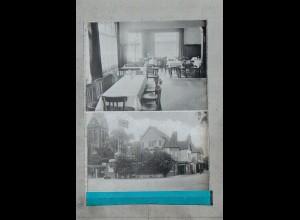 Neg3081/ Schwarzenbek Hotel Deutsches Haus altes Negativ 40/50 Jahre