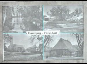 Neg3209/ Hamburg Volksdorf Kirche, Jugendheim 60er Jahre